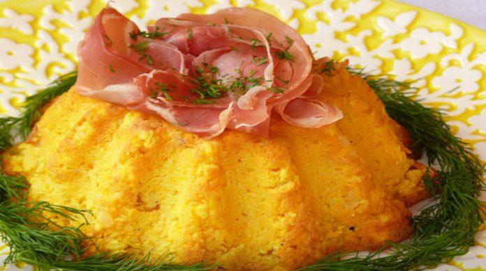 Идеальный вариант накормить всю семью: золотистая картофельная бабка