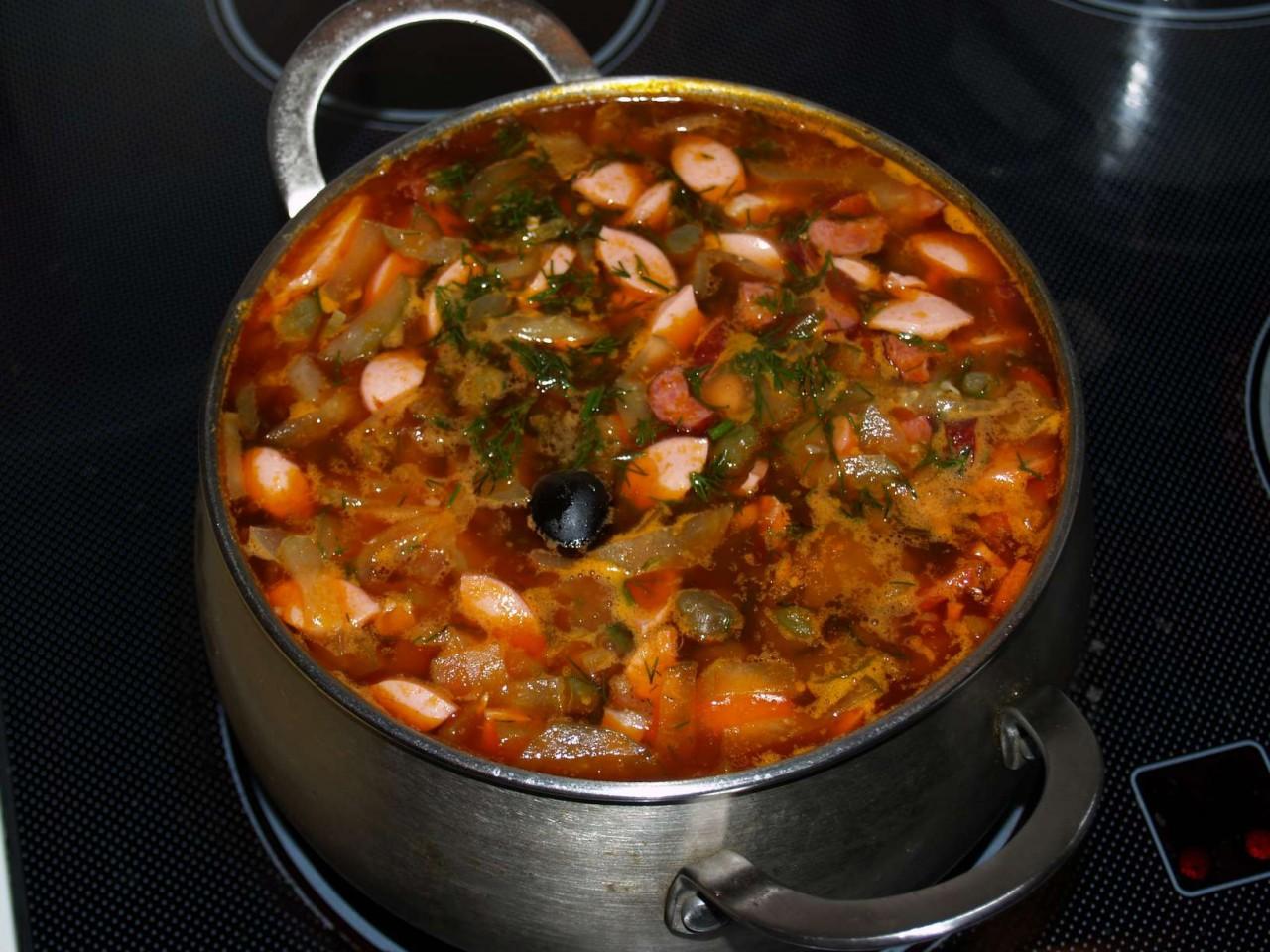 сборной солянки фото рецепт мясной