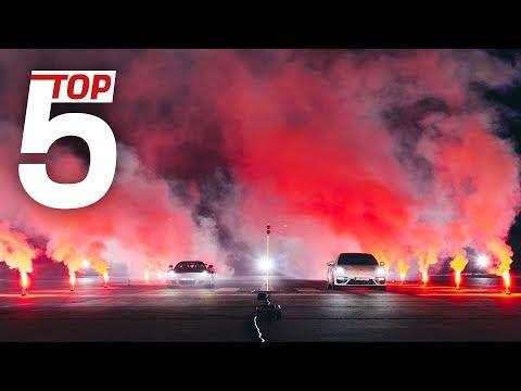 Пять самых быстрых Porsche на одном видео