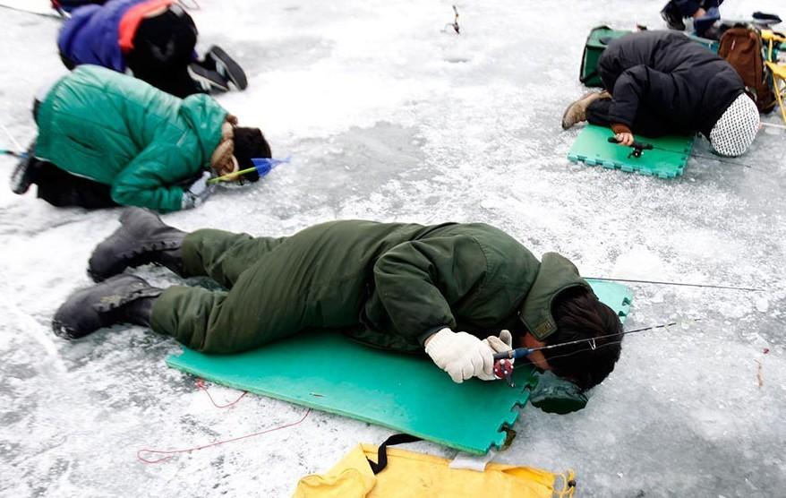 рыбалка зимния история
