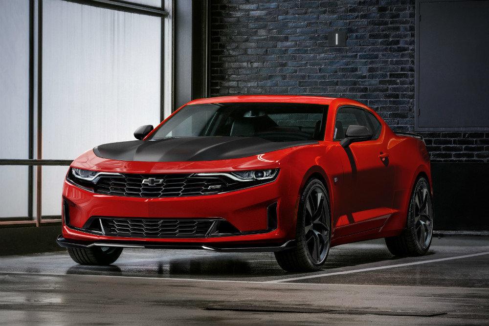 Chevrolet представил обновленный спорткар Camaro