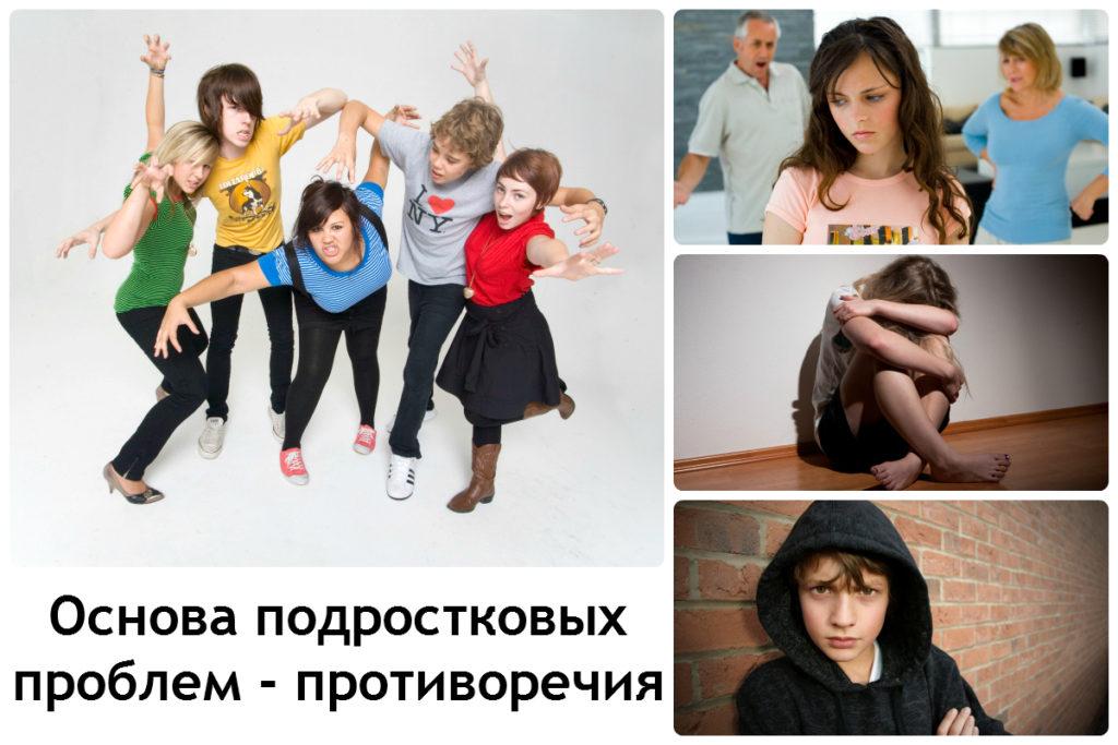 Основа проблем подростков