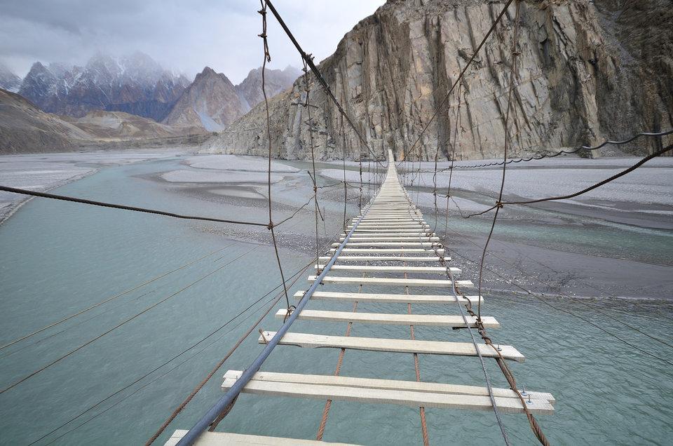 Мосты не для слабонервных из разных стран мира