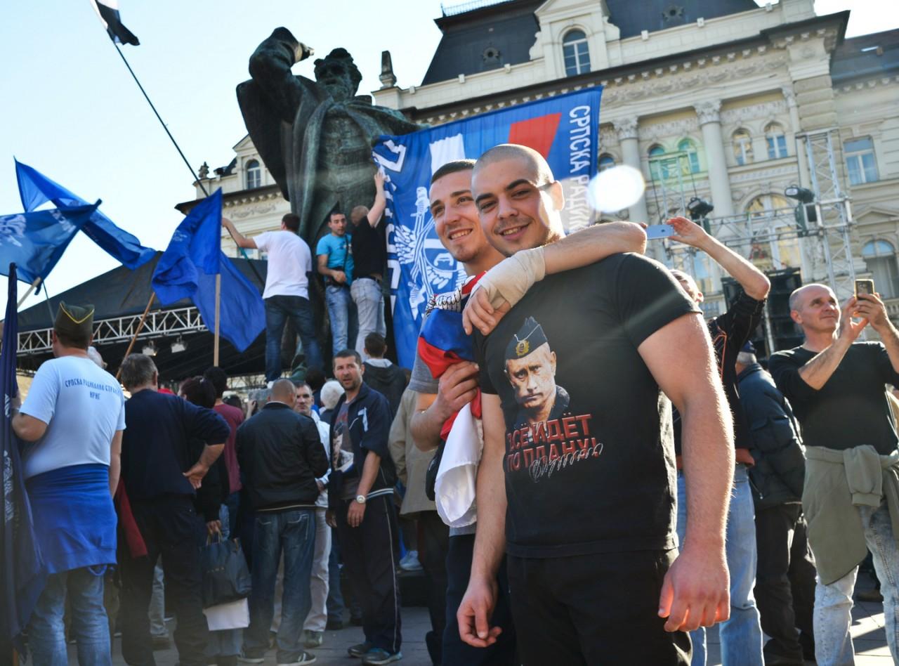 В Британии шокированы «героизацией» Путина в Сербии