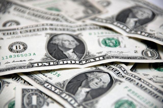 Курс доллара увеличился до 61,78 рубля
