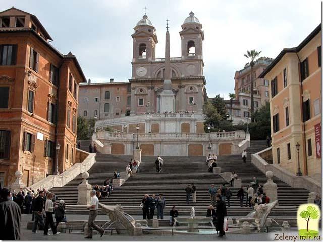 Испанская лестница в Риме - 138 ступеней восторга - 4