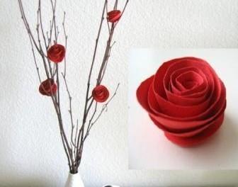 Розы квиллингом