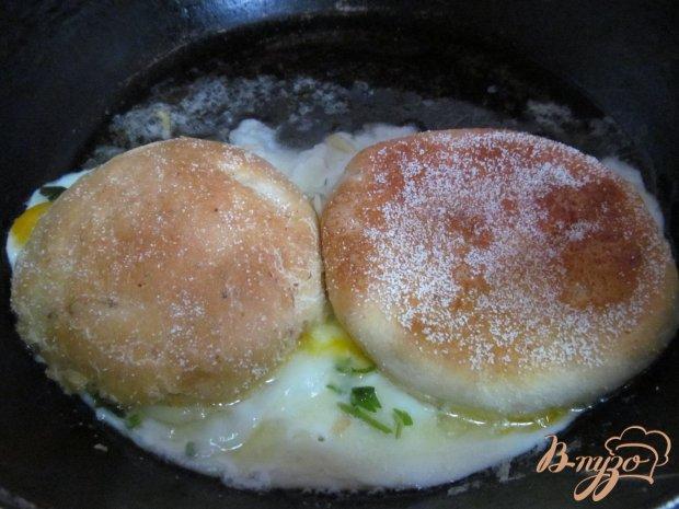 Рецепт с яйцом и колбасой