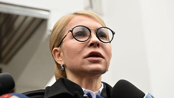 «Очередные сказки»: Тимошенко пообещала мир на Донбассе
