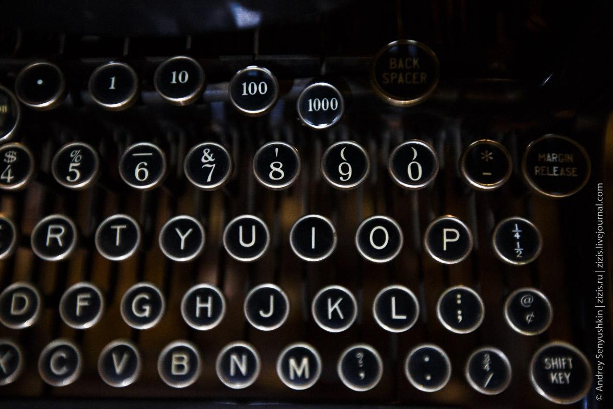 Typewriter: исторический путеводитель по пишущим машинкам