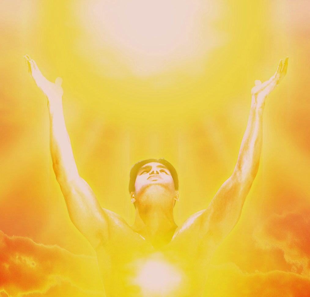 Солнце в теле человека