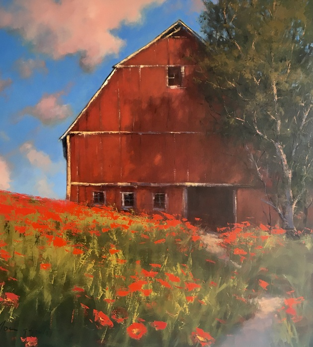 Живописные ландшафты от Romona Youngquist.