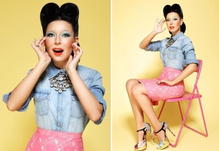 Популярная певица Елка | Фото: diwis.ru и kp.ru