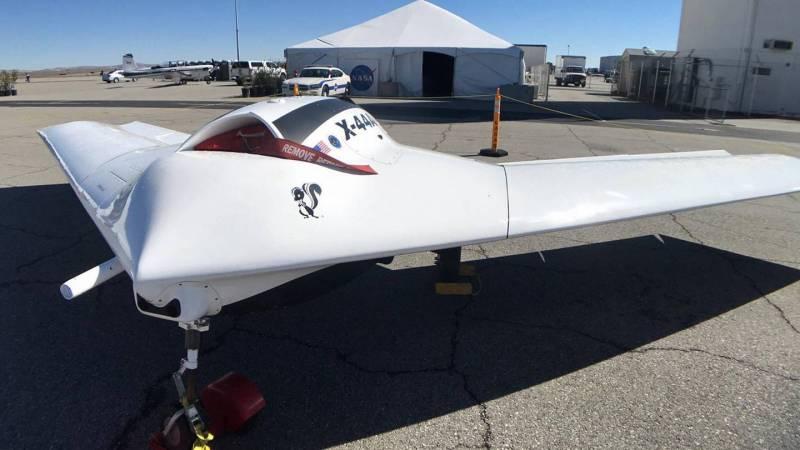 Раскрыт секрет экспериментального БПЛА Lockheed Martin X-44A
