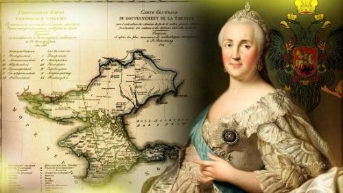 Как Украина предъявила претензии за аннексию Крыма Екатерине Второй