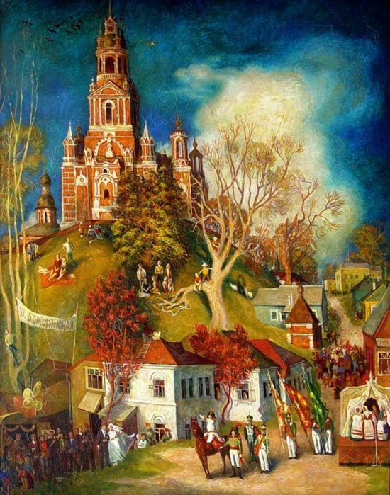 художник Евгений Долгачев картины – 08