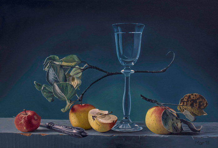 Немецкий художник-реалист Dietrich Moravec.