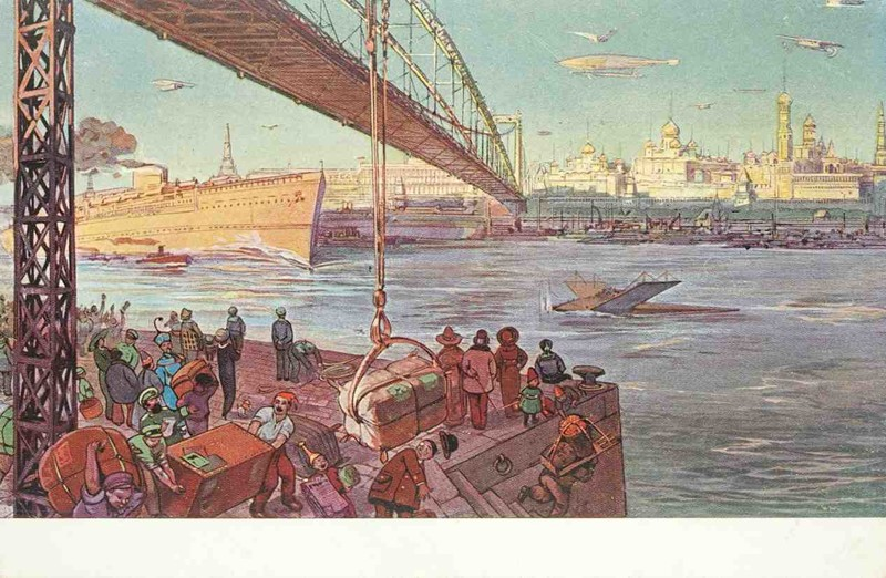 Река Москва. история, открытки, факты