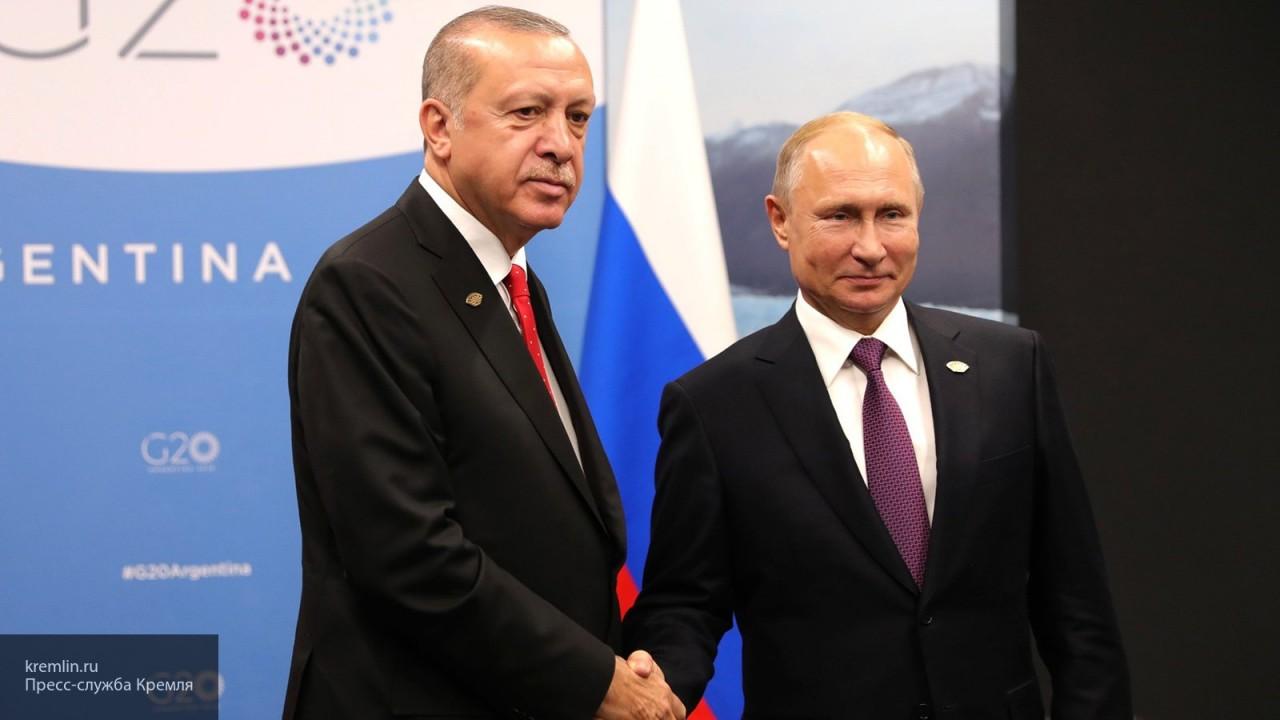Песков подтвердил встречу Путина и Эрдогана в Москве 8 апреля