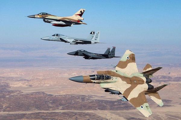 Сирия под ударом: ВВС Израиля применили крайне хитрую тактику