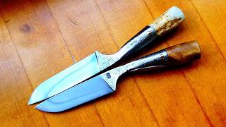 Необычный нож, ковка