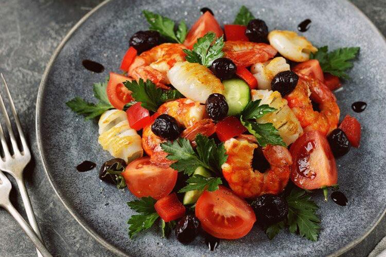 Бесподобный салат «Мальтийский»