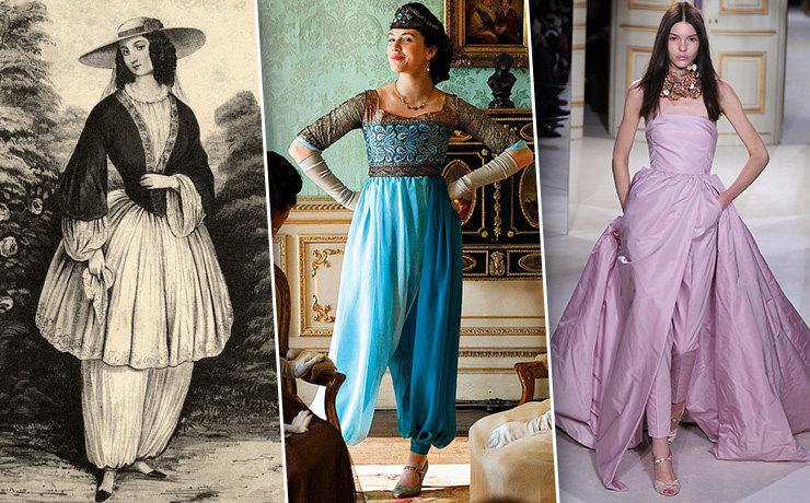 Блумерсы: из истории женских брюк