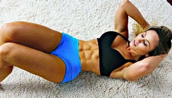 Ежедневные тренировки и упорный труд над собой и своим телом, дадут результат