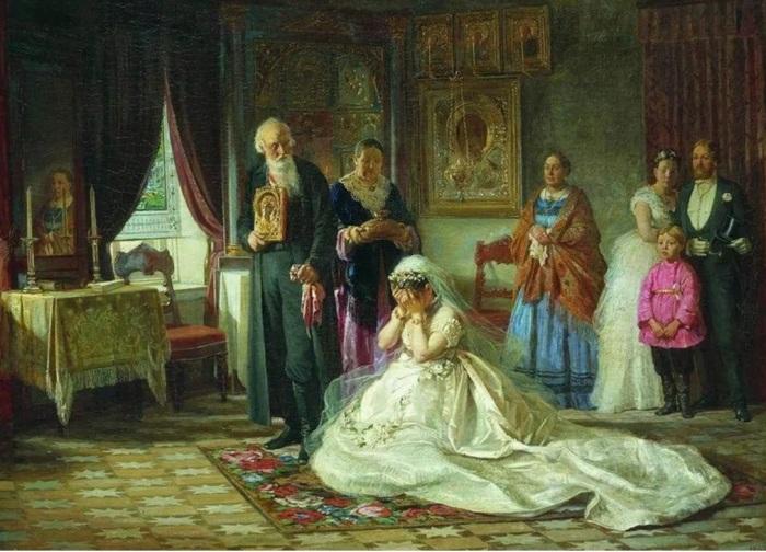 Фирс Журавлев, «Перед венцом».