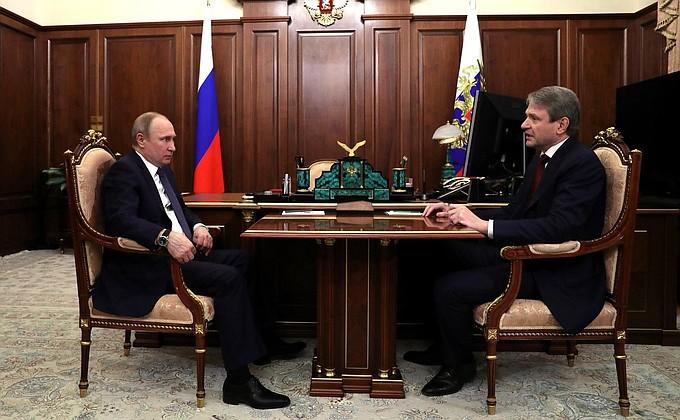 Встреча с главой Минсельхоза России Александром Ткачёвым - НОВОСТИ НЕДЕЛИ