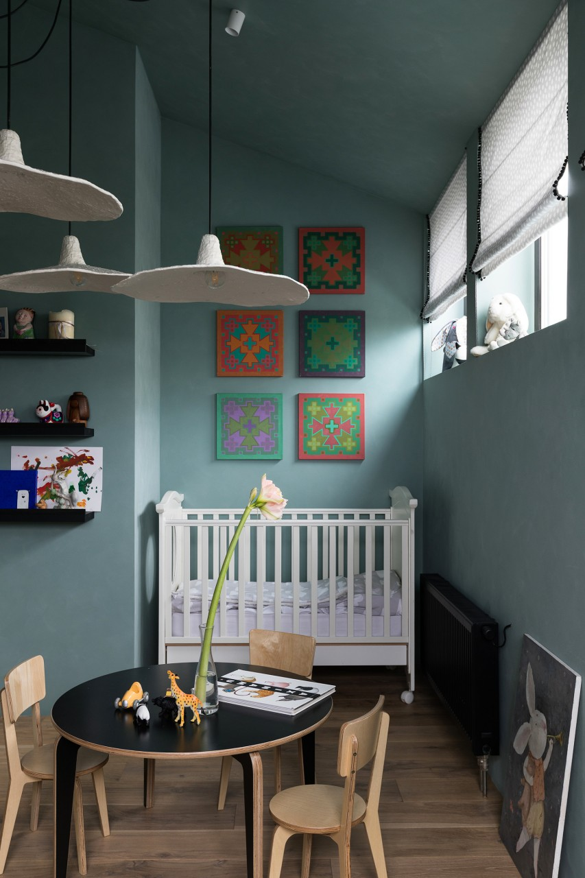 Дизайн двухуровневой квартиры архитектора Сергея Махно