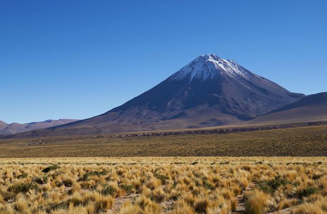 Льюльяйльяко, граница Чили и Аргентины