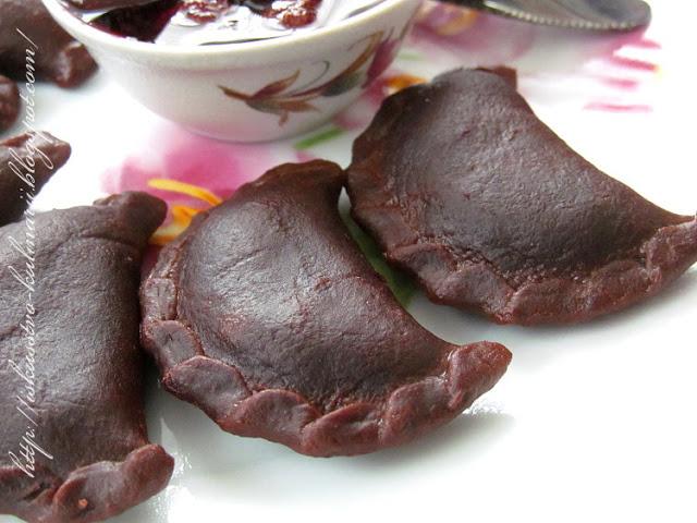 Шоколадные вареники с творогом. Просто, вкусно, очень необычно и изысканно!