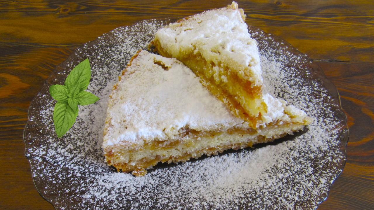 Насыпной яблочный пирог «3 с…