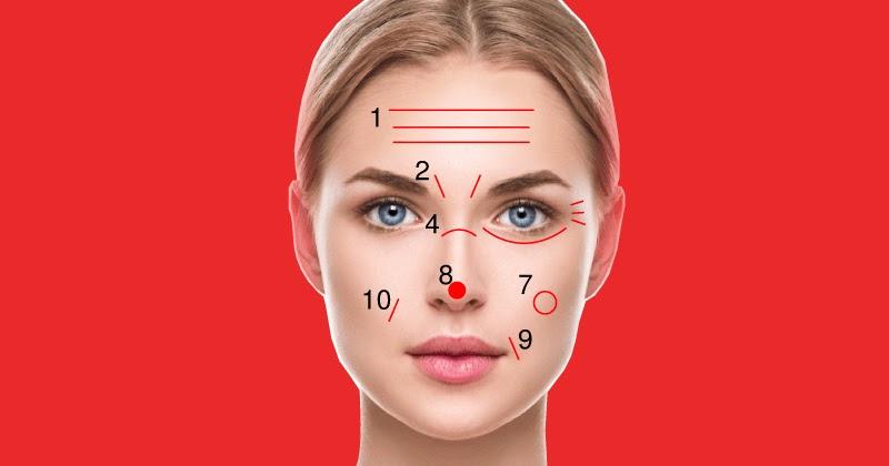 5 фактов, которые линии на лице говорят о вашем здоровье