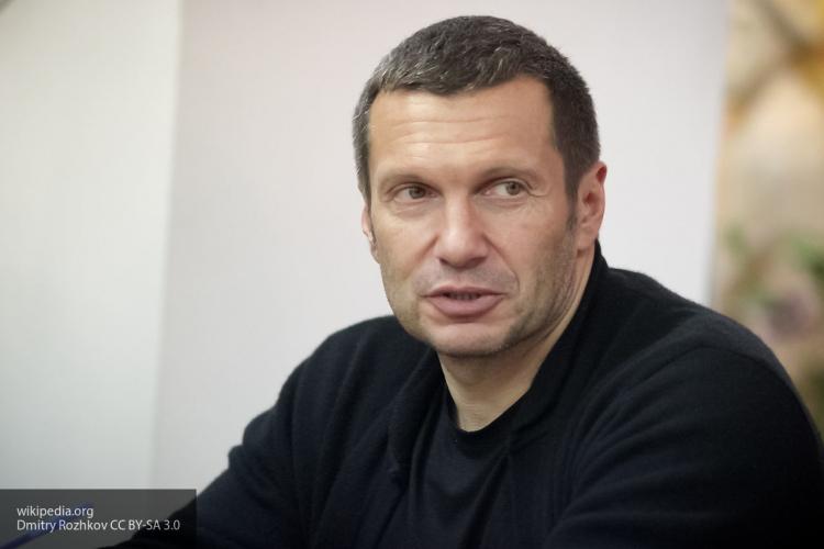 Соловьев ответил Болдуину, который пообещал «помочиться на консульство РФ»