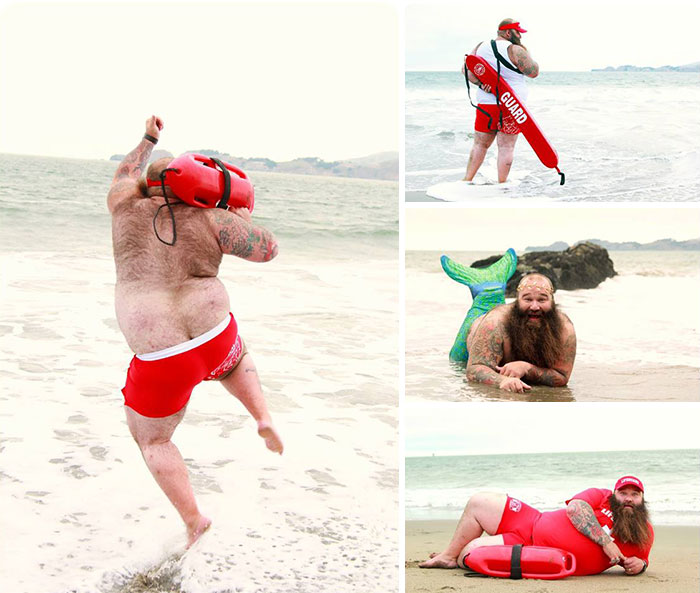 This Guy's Dudeoir Photoshoot Just Raised The Bar (NSFW)