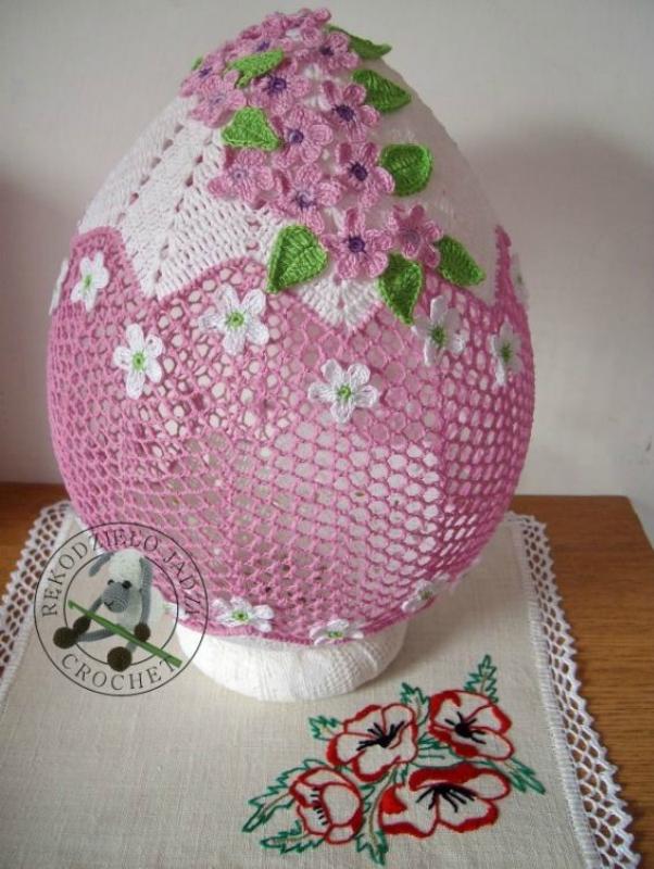 Вязаный пасхальный декор: красивые праздничные идеи