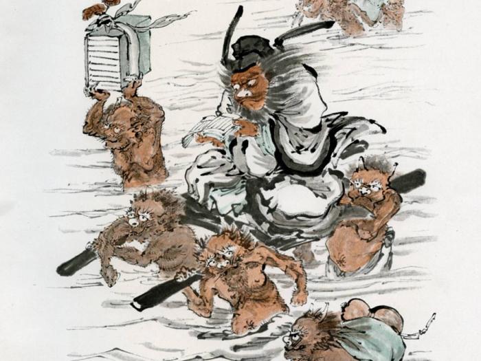 Китайцы верят в демонов и добрых духов.
