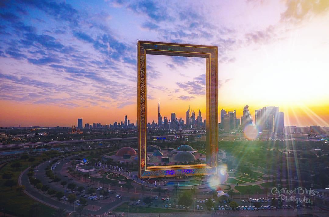 Невероятная 150 — метровая рамка в Дубаи