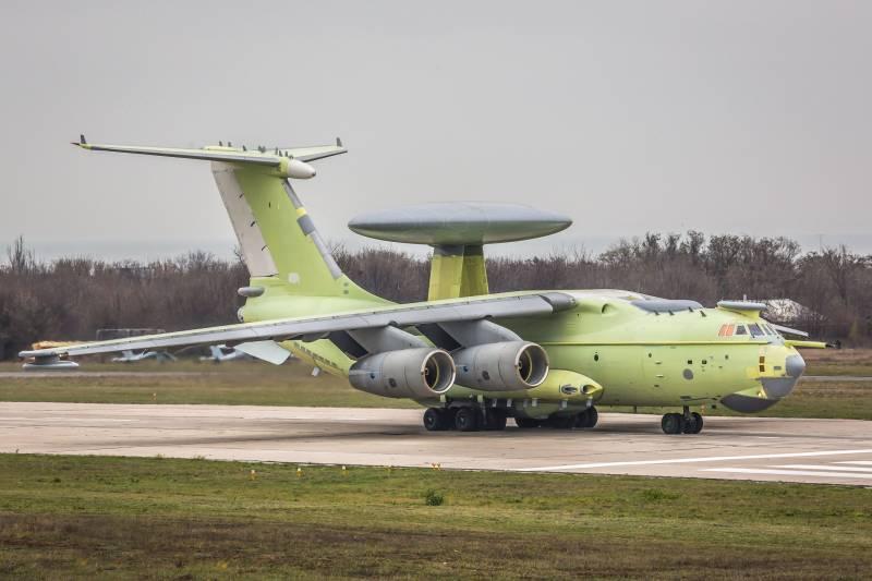 Первый полет нового самолета…