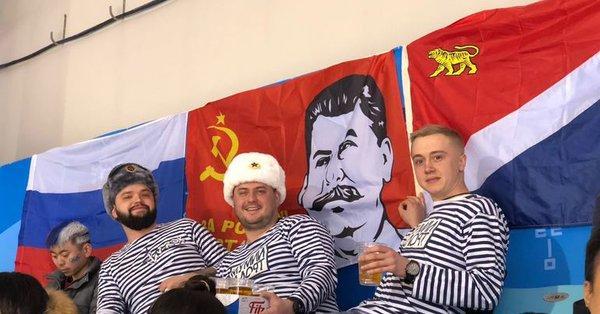 «С нами Сталин!»: российские…