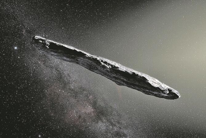 Оумуамуа: первый объект, прилетевший с другой звезды