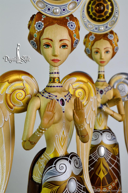 Уникальная кукла из дерева.Интерьерная кукла, Куклы, Сумы, Фото №1