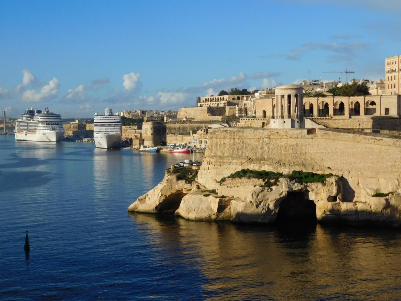 Средиземноморский круиз. Часть 6. Мальта, Валлетта