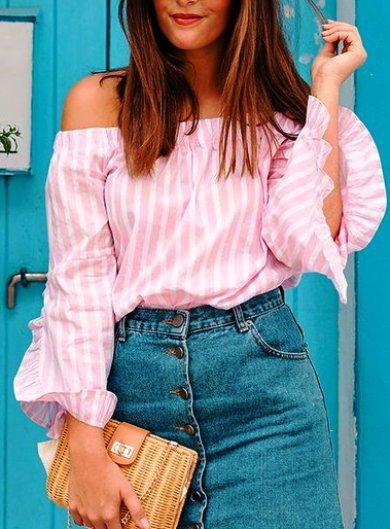 В розовом цвете — подборка образов с расслабленным летним настроением