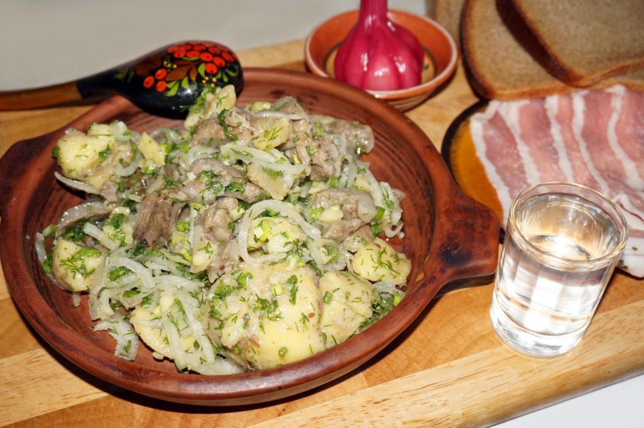 Картофельно-грибной салат - Мировой закусон!