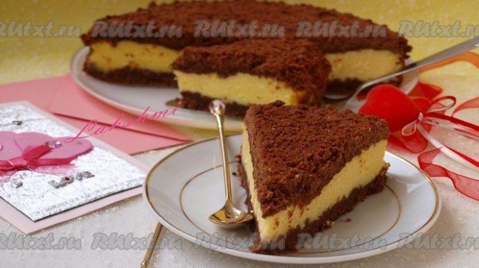 Очень вкусный творожно-шоколадный торт «Торфяник»