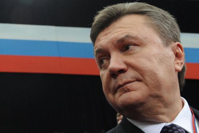 Киев получил прошение Януковича о вводе войск РФ
