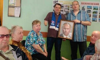 Незрячим россиянам дали пощупать Путина